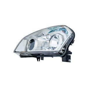 Headlight Headlamp with Bright Chrome